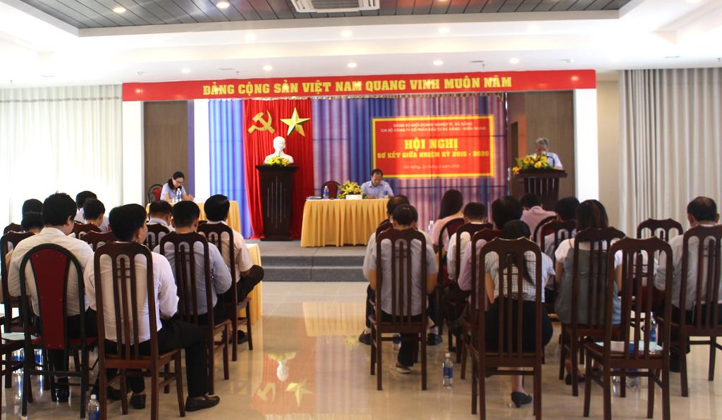 DMT GROUP tổ chức Hội nghị sơ kết giữa nhiệm kỳ Đại hội Đảng bộ Khối Doanh Nghiệp, nhiệm kỳ 2015-2020