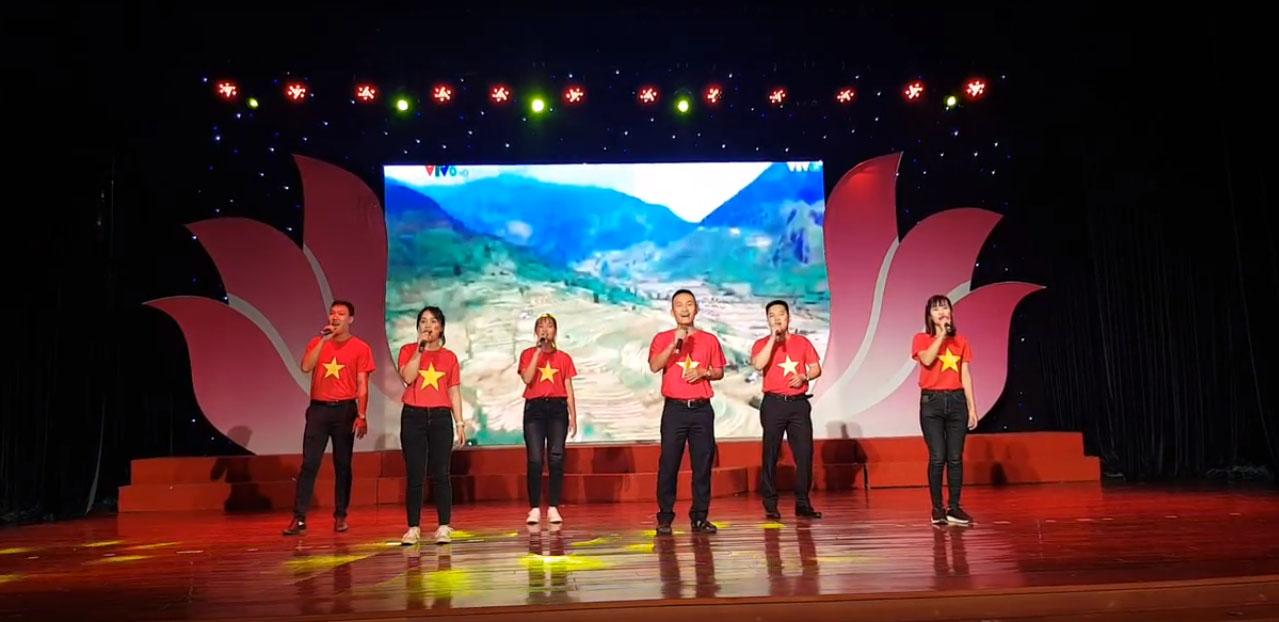 """DMT GROUP - Hội diễn văn nghệ """"Người là niềm tin tất thắng"""" nhân Kỷ niệm 50 năm thực hiện Di chúc Chủ tịch Hồ Chí Minh và 10 Lập Thành lập Đảng bộ khu Công nghệ cao và các khu Công nghiệp ĐN"""